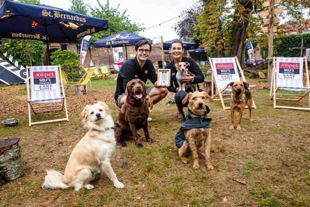 Unizolabel Handmade in Belgium voor ambachtelijke dierenvoeding Jolipet