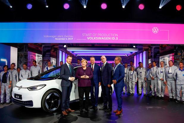 Début de la production de la Volkswagen ID.3 à Zwickau