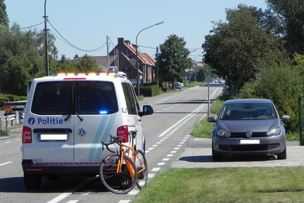 Lichtgewonden bij ongevallen met fietsers