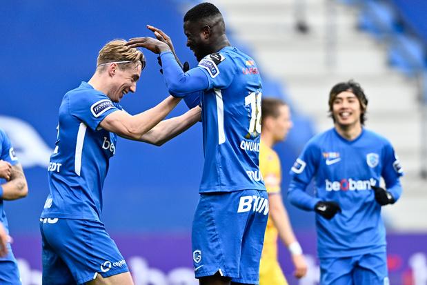 Genk heeft geen kind aan STVV en plaatst zich eenvoudig voor play-off 1