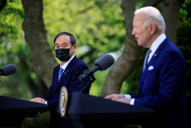 Biden: VS en Japan gaan samen het hoofd bieden aan uitdagingen van China