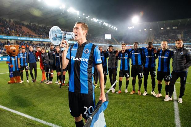 Club Brugge halveert titelpremie door corona