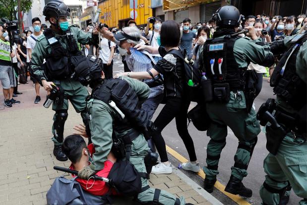 VS zullen speciale status Hongkong intrekken