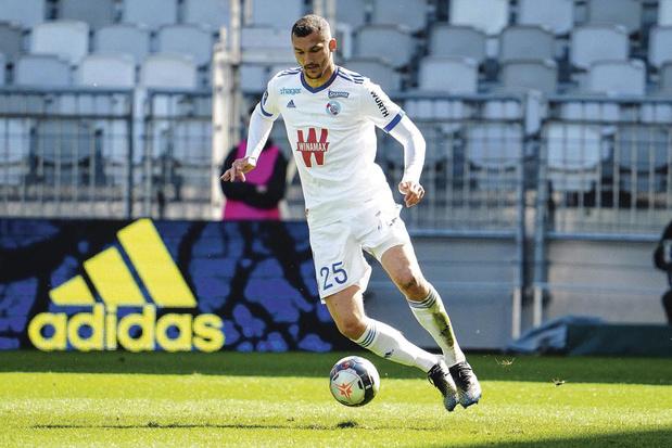 Ludovic Ajorque - club: Strasbourg