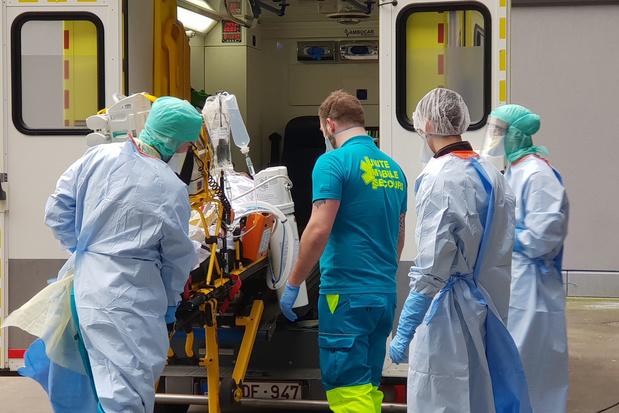 Covid-situatie in Luik uiterst precair: 'Als je geen bedden meer hebt, heb je geen bedden meer'