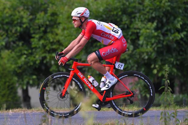 Geen Tour de France voor Julien Vermote