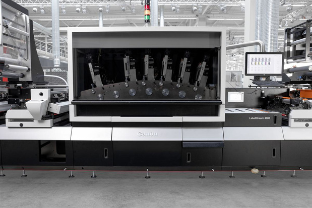 Partenariat entre Canon et Hybrid Software autour de la LabelStream série 4000