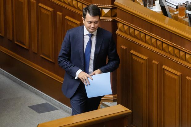 Oekraïne: president Zelenski laat parlementsvoorzitter ontslaan