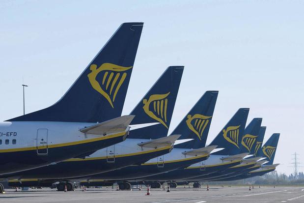 Ryanair : jusqu'à 3.000 suppressions d'emplois et pas de reprise des vols avant juillet