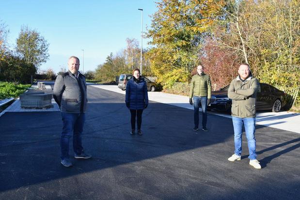 Centrumparking Vlienderkouter in Bissegem opnieuw open na renovatie