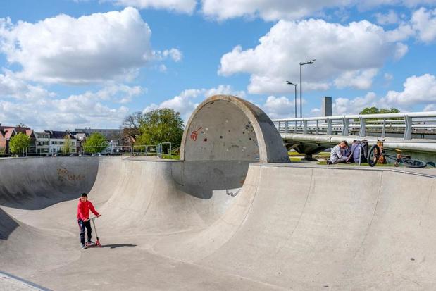 Stad Kortrijk zoekt vrijwilligers om skateparken te kunnen openen