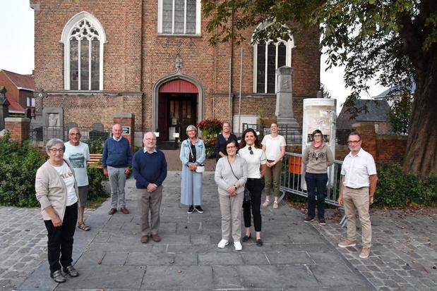 Kunstenaars stellen opnieuw tentoon in de Sint-Laurentiuskerk