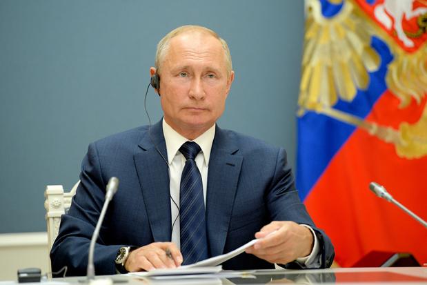 Poetin feliciteert Joe Biden