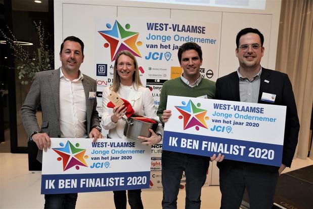 De finalisten van JCI's West-Vlaamse Jonge Ondernemer zijn bekend