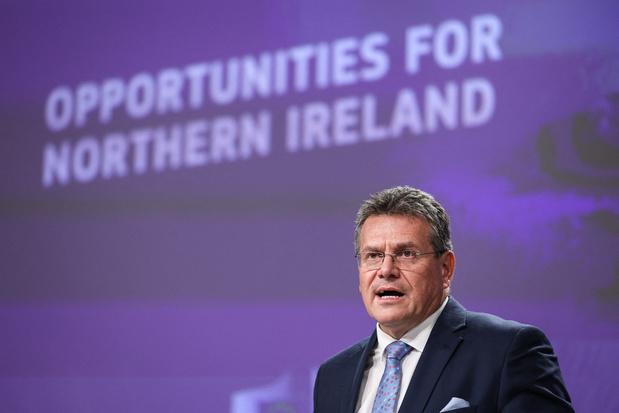 Spanningen Noord-Ierland: EU-Commissie wil soepelere goederentrafiek