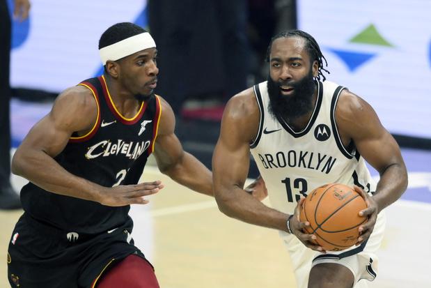 NBA: 'Supertrio' voor het eerst samen op parket, maar Brooklyn verliest