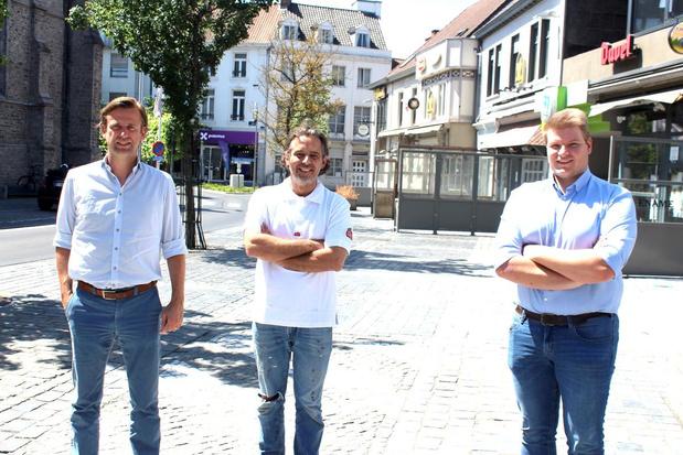 Parkeerplaatsen en ander openbaar domein kunnen dienst doen voor terrasjes in Waregem
