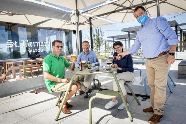 West-Vlaamse familiebedrijven lanceren eigen corona-terrasconcept