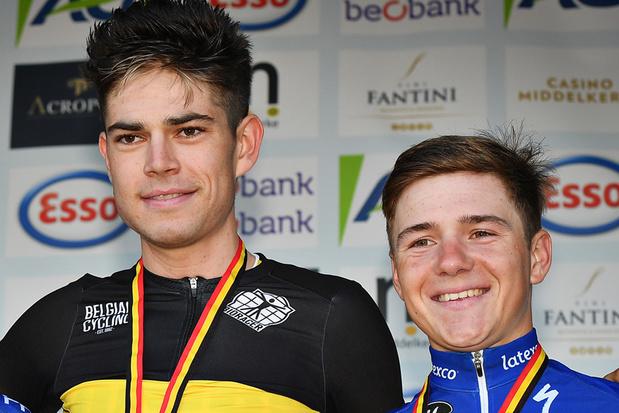 Evenepoel en Van Aert rijden olympische tijdrit: 'Niet makkelijk voor Victor Campenaerts'