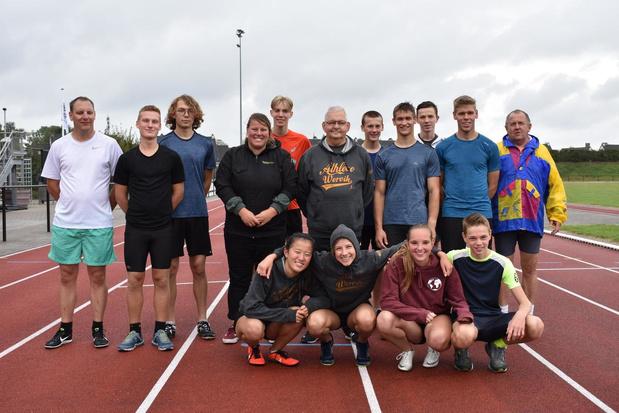 Ghislain Salaets neemt afscheid als atletiektrainer bij Athleoo Wervik