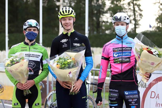 Junior Michiel Lambrecht wint in Ploegsteert