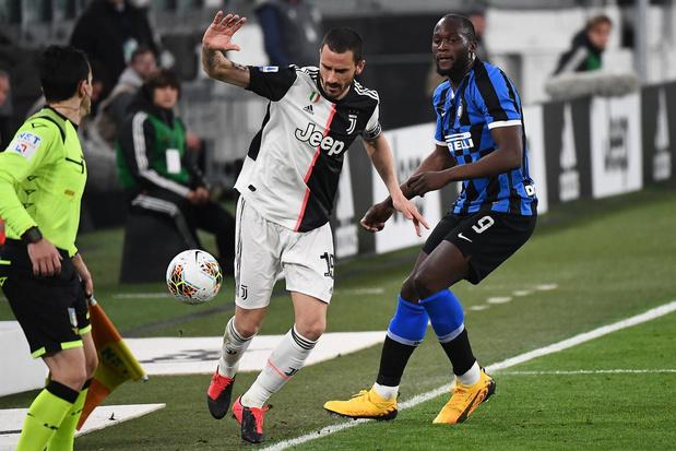 Titelambities Lukaku krijgen flinke knauw in leeg Juventus Stadium