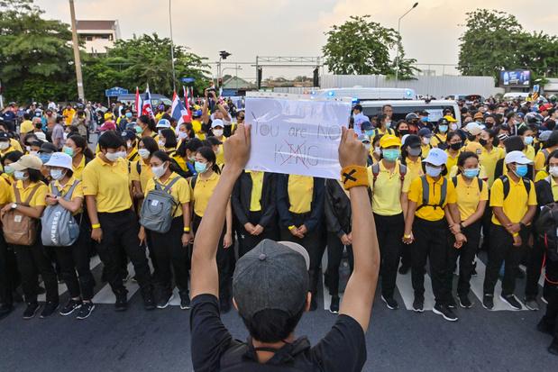 Opnieuw grote betoging in Bangkok, democratiebeweging eist hervormingen