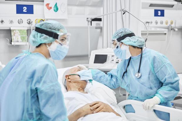 Les médecins de soins intensifs moins infectés que d'autres collègues