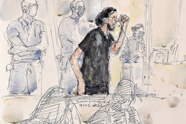 Proces aanslagen Parijs: Abdeslam zet drie medeverdachten uit de wind: 'Ze wisten van niets'