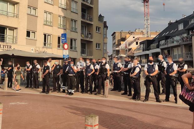 Politievakbond eist signaal van overheid na rellen in Blankenberge