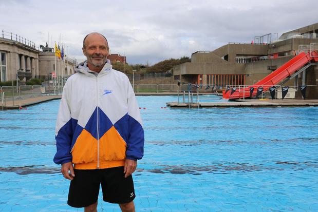 Geen overrompeling voor laatste dag buitenzwembad in Oostende