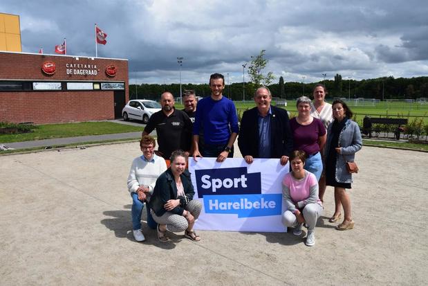 Sport Harelbeke gaat voor nieuwe aanpak met eigen logo