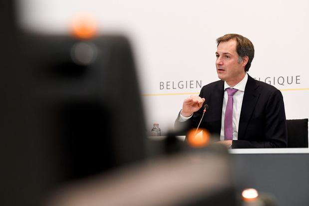 De Croo ziet 'écht geen reden' voor alarmisme in aanloop naar Overlegcomité