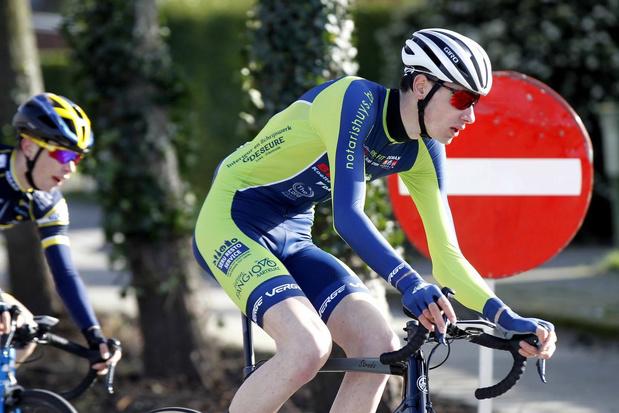 Junior Kenneth Verstegen uit Beerst droomt van selectie voor Gent-Wevelgem