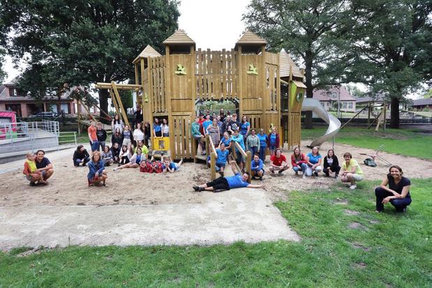Kinderen op speelplein De Warande opgedeeld in drie bubbels