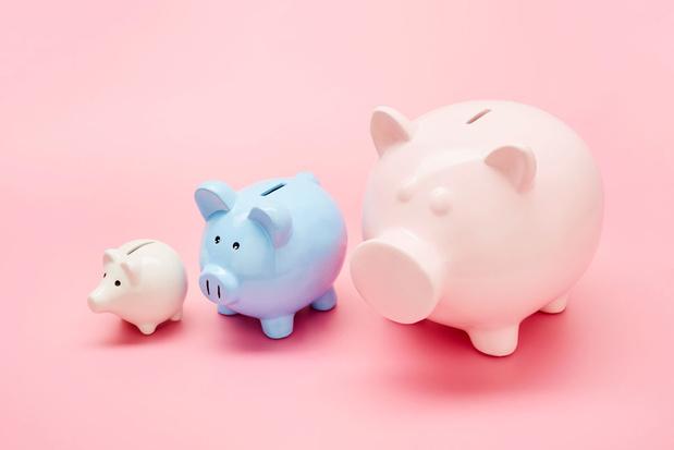 Vier op de tien Belgen in 2020 niet in staat om te sparen
