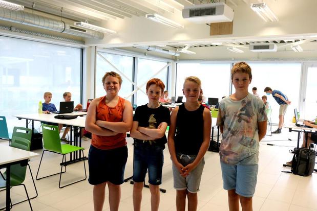 Eerste gaming kamp in Diksmuide meteen een succes