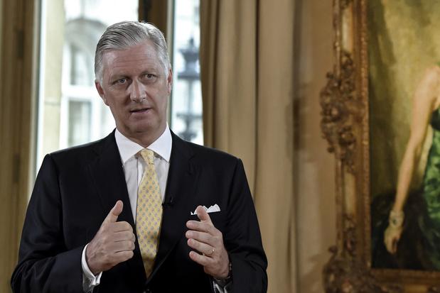 Koning Filip dankbaar voor solidariteit en inspanningen na ramp