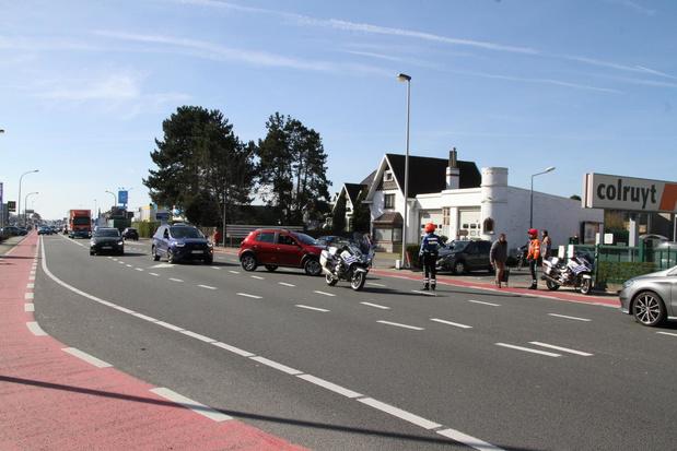 Opnieuw verkeerschaos door hamstergedrag in Oostende
