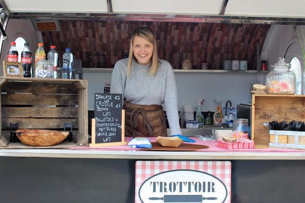 Foodtruck Trottoir in Oudenburg blijft niet bij de pakken zitten