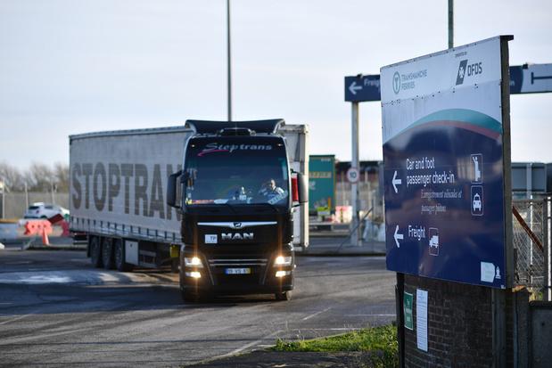 Britse export naar EU daalt met 68 procent in januari