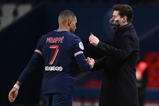 Mauricio Pochettino: 'Ik zie Mbappé nog veel jaren bij PSG blijven'