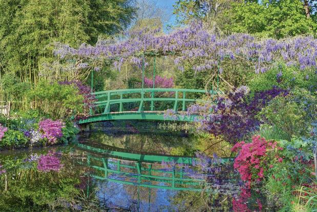 De tuin van Monet
