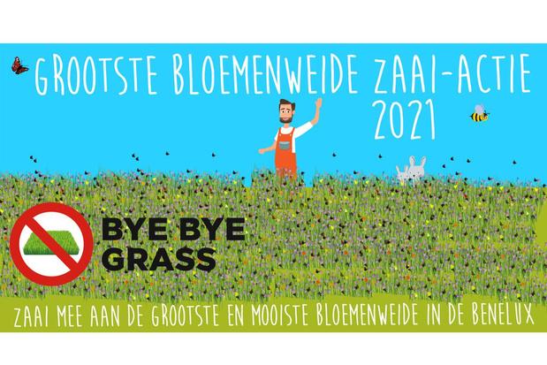 Laat het gras zo lang mogelijk groeien