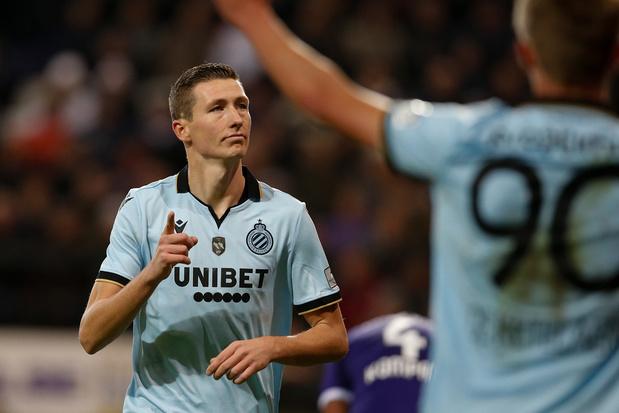 Club Brugge wint op Anderlecht dankzij twee goals van Gouden Schoen Hans Vanaken