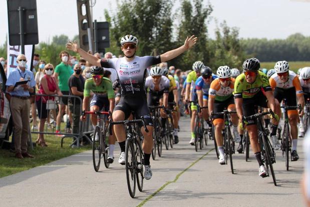 Mathias Vandenborre is de snelste in Kruisem