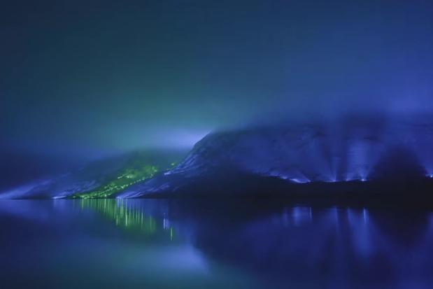 Video: kunstenaar verandert Ierse Connemara Mountains in grootste lichtkunstwerk ooit gemaakt