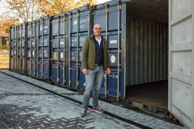 Containers zorgen voor extra bergruimte bij JC De 4Link in Moorslede