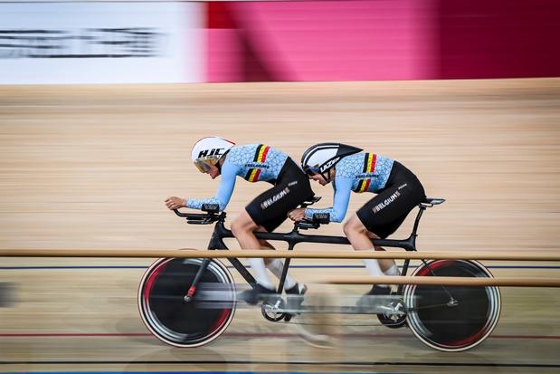 Paralympics: Griet Hoet verovert brons in de 1 km tijdrit, de eerste Belgische medaille