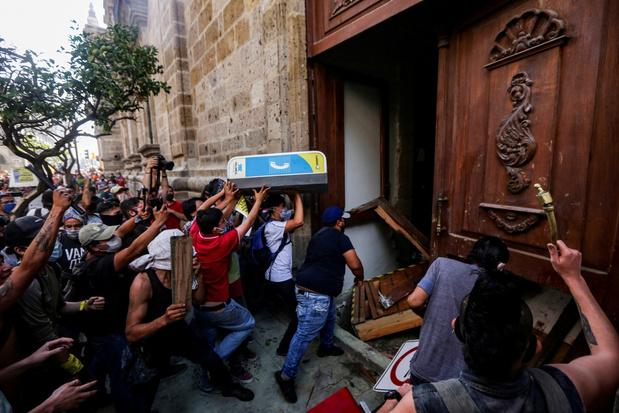 Ook Mexico verontwaardigd door eigen sterfgeval na politiegeweld